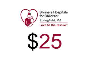 Shriners Hospitals for Children Springfield Donation $25.00