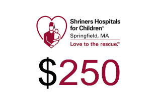 Shriners Hospitals for Children Springfield Donation $250.00